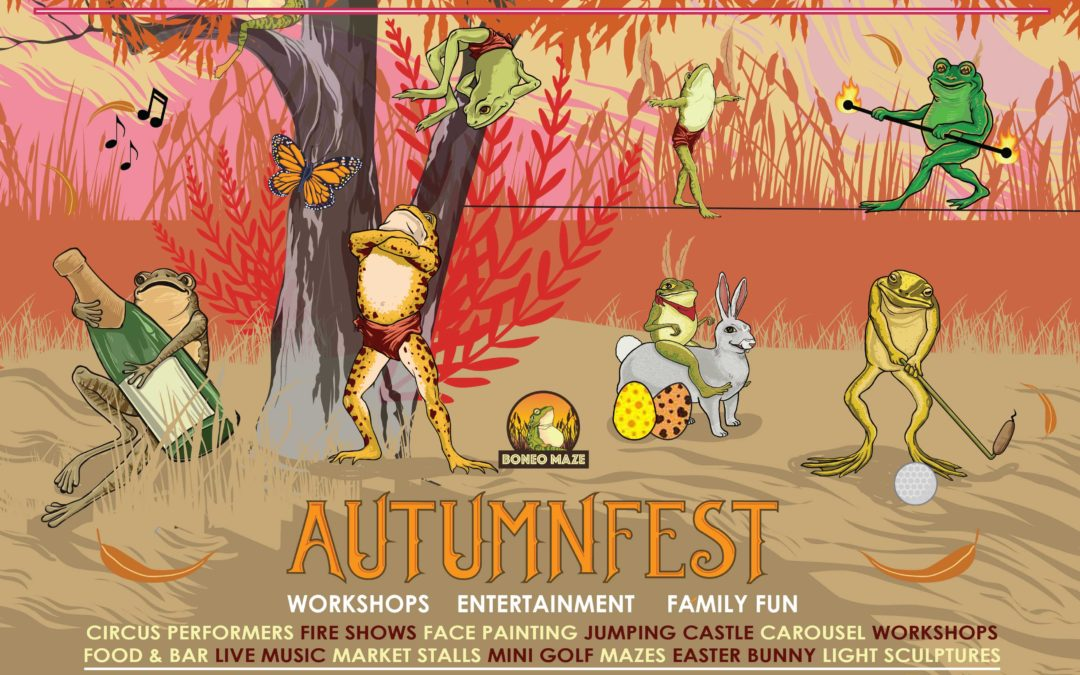 Autumn Fest: Fri 30th Mar – Sun April 1st